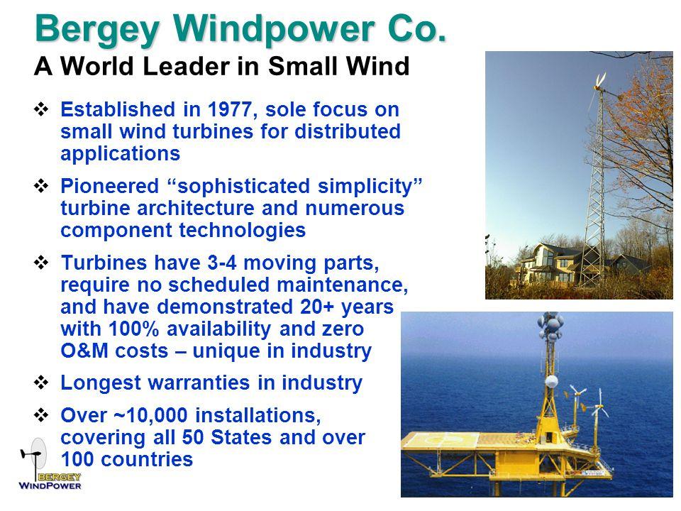 Bergey Windpower Co. Bergey Windpower Co.