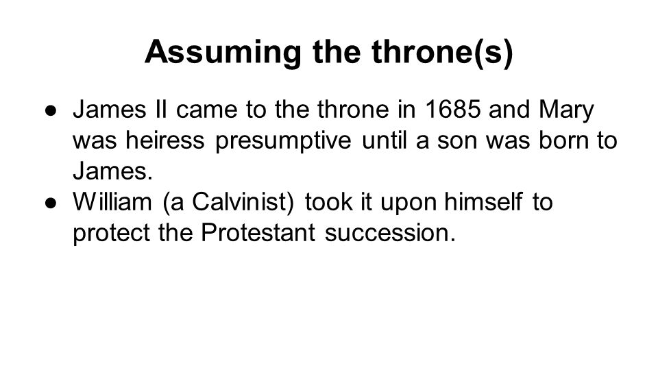 Selfless Protestant Defense.
