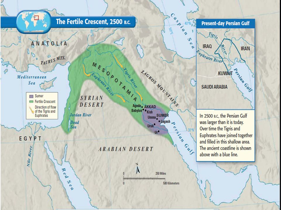  Also known as: THE FERTILE CRESCENT Meaning: Land Between Two Rivers  Rivers: TIGRIS and EUPHRATES http://www.missedinhistory.com/podcast s/mesopotamia-the-first-civilization/