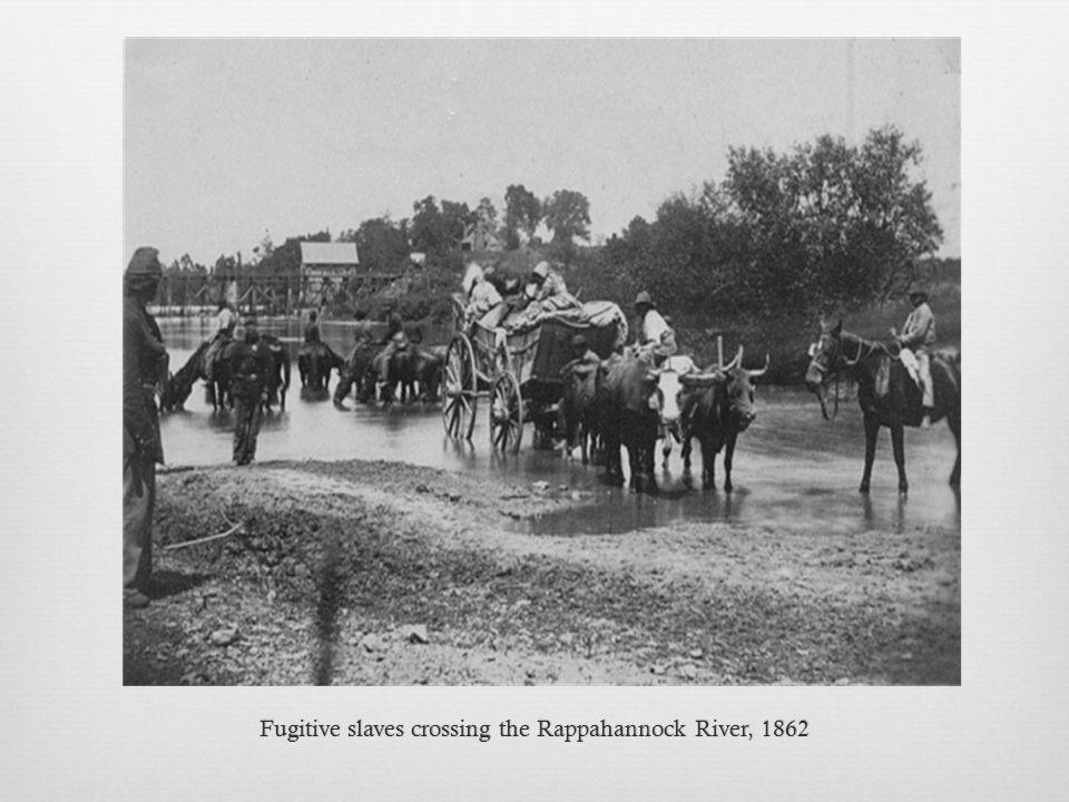 Fugitive slaves crossing the Rappahannock River, 1862Fugitive slaves crossing the Rappahannock River, 1862