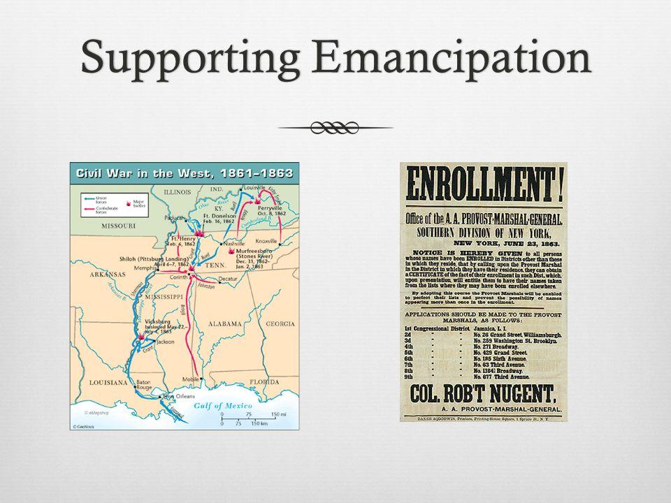 Supporting EmancipationSupporting Emancipation