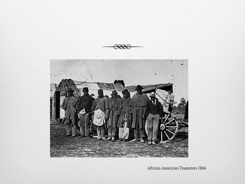 African American Teamsters 1864African American Teamsters 1864
