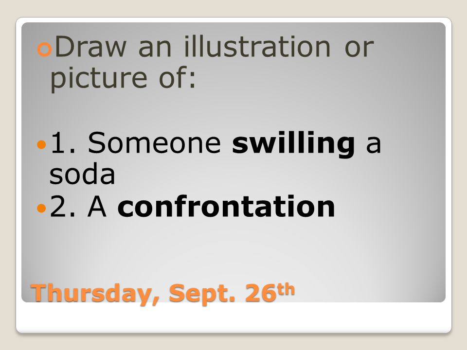 Thursday, Sept.