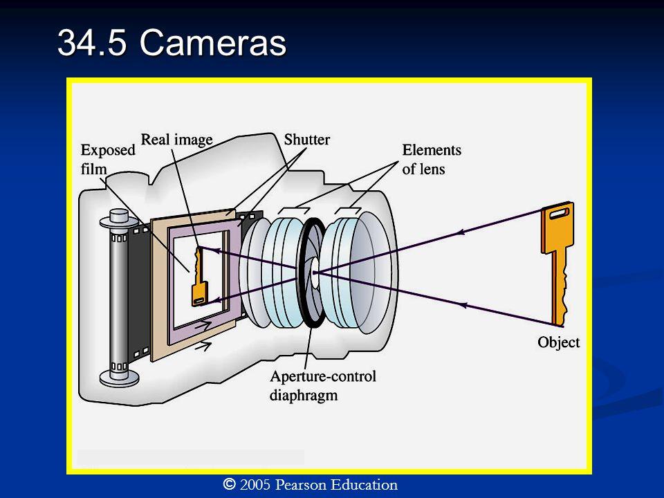 34.5 Cameras © 2005 Pearson Education