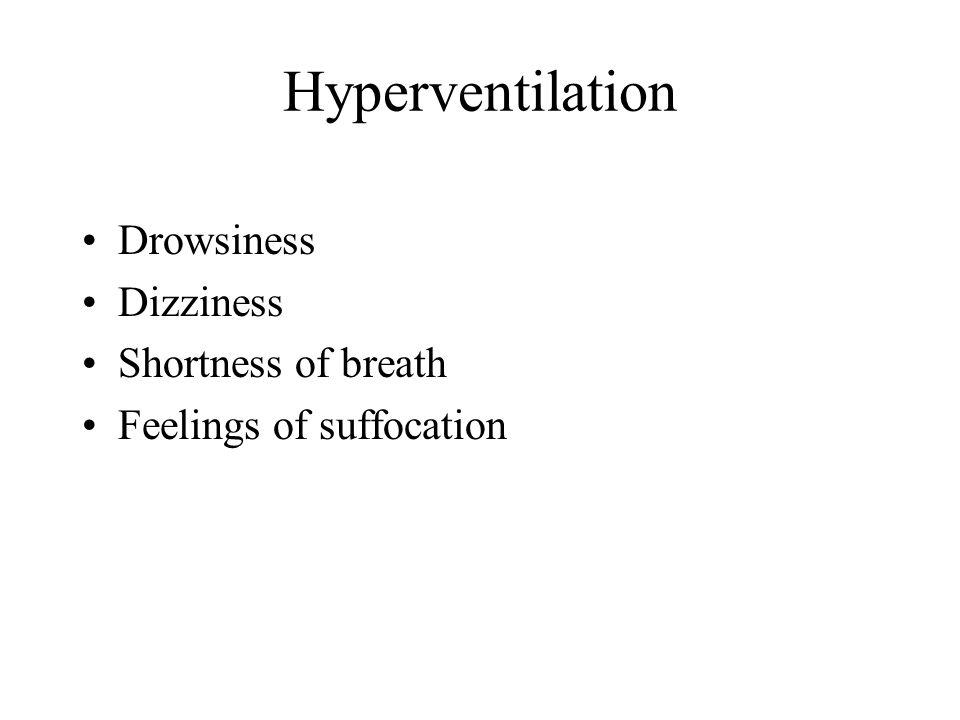 Hypoxia Hypoxic –high altitudes Hypemic –CO, anemia, smoking Stagnant –high G's Histotoxic –alcohol, drugs