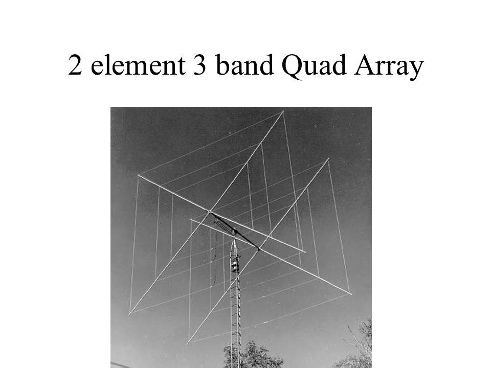 2 element 3 band Quad Array