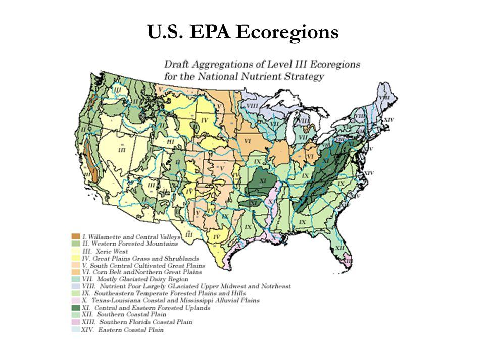 U.S. EPA Ecoregions