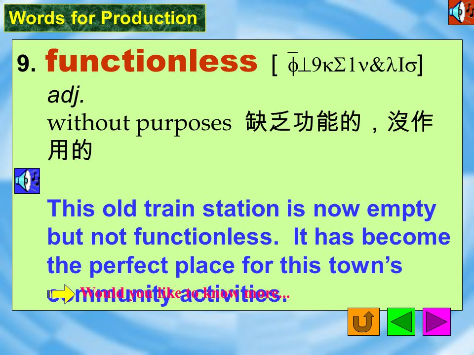 Words for Production 8. seemingly [ `simI9lI ] adv.