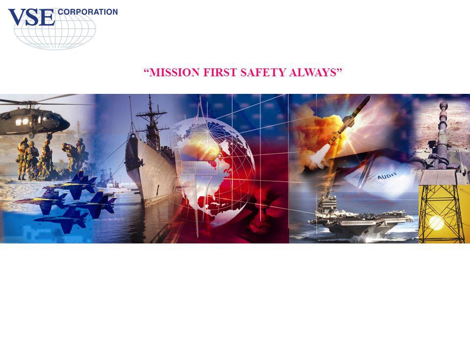 """MISSION FIRST SAFETY ALWAYS"""