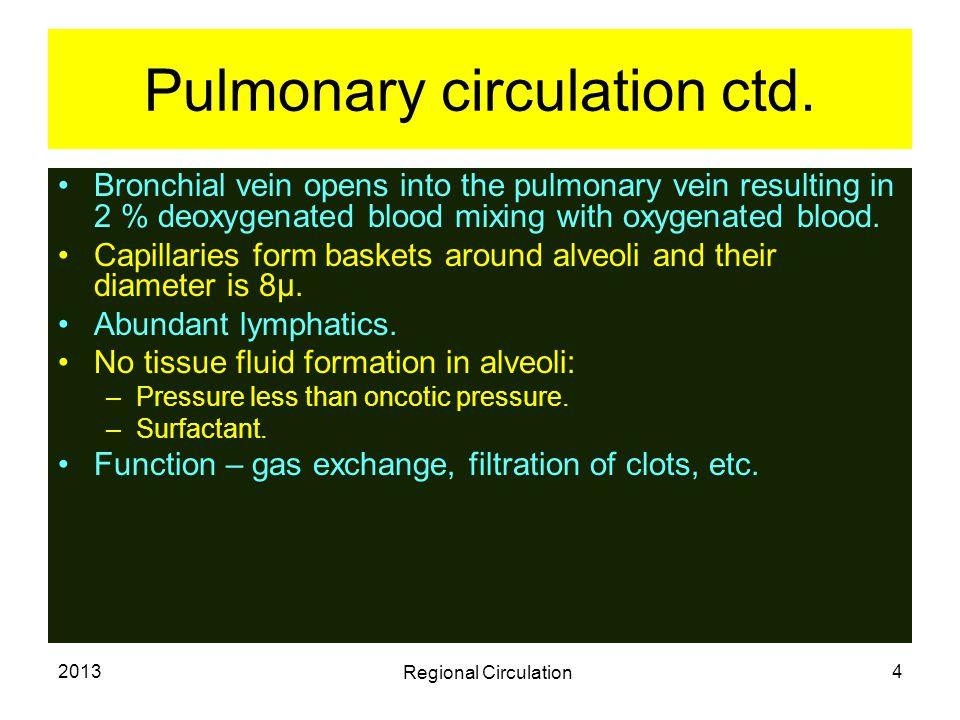 2013 Regional Circulation 15 Response to injury.Mild stroke- – white reaction.