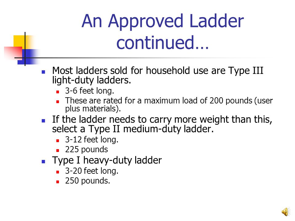 Importance of Ladder Safety Any fall can be serious, and a fall from the height of even a low ladder can mean a painful and incapacitating injury. The