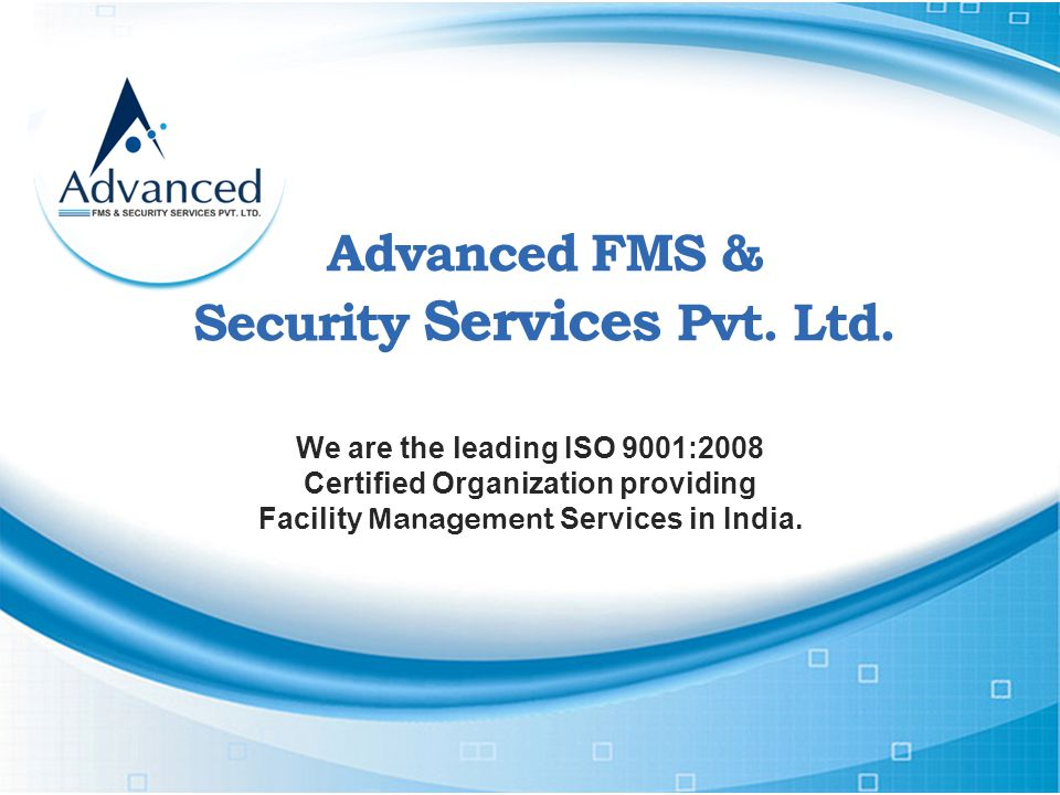 Advanced FMS & Security Services Pvt. Ltd.