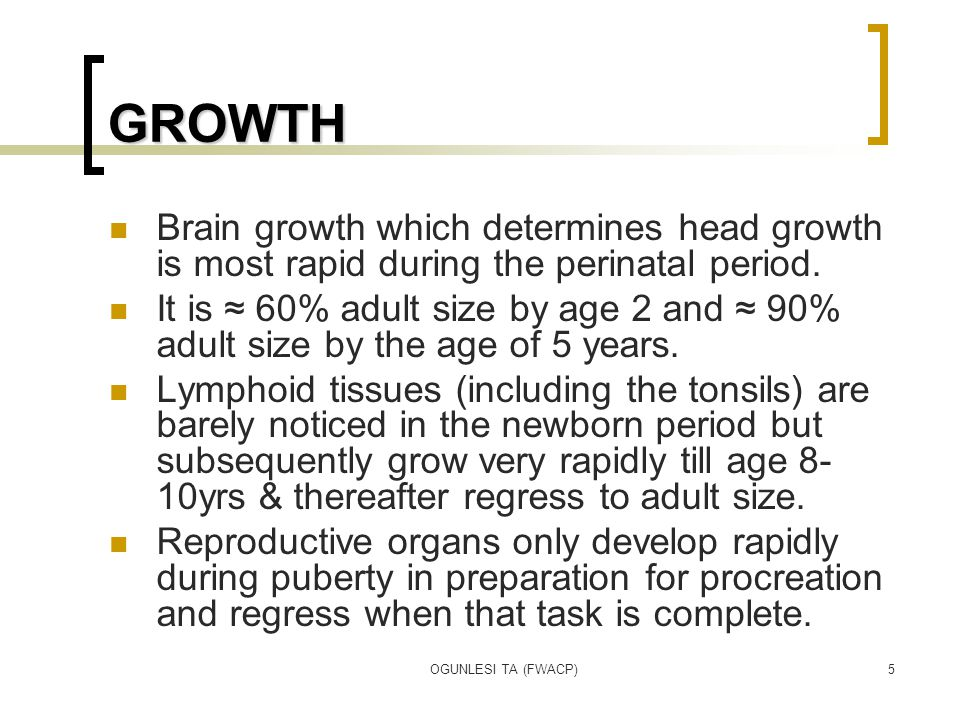 OGUNLESI TA (FWACP)36 FACTORS AFFECTING GROWTH PSYCHO-SOCIAL Children who are loved & cared for usually show better growth pattern compared to those who are deprived of love.