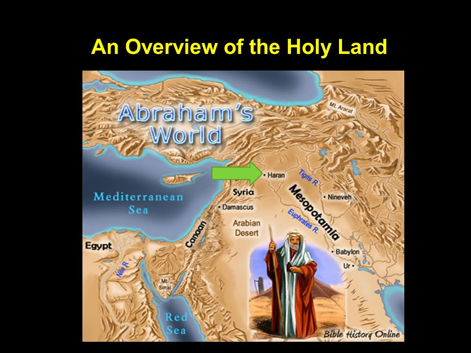 An Overview of the Holy Land