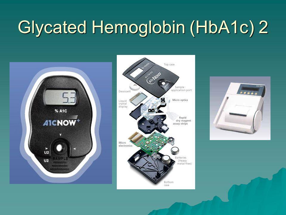 Glycated Hemoglobin (HbA1c) 1