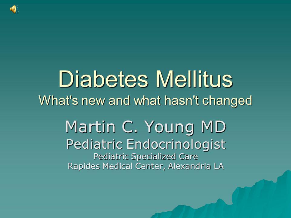 Diagnosing DM  Your patient has DM until otherwise proven!