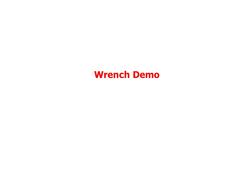 Wrench Demo