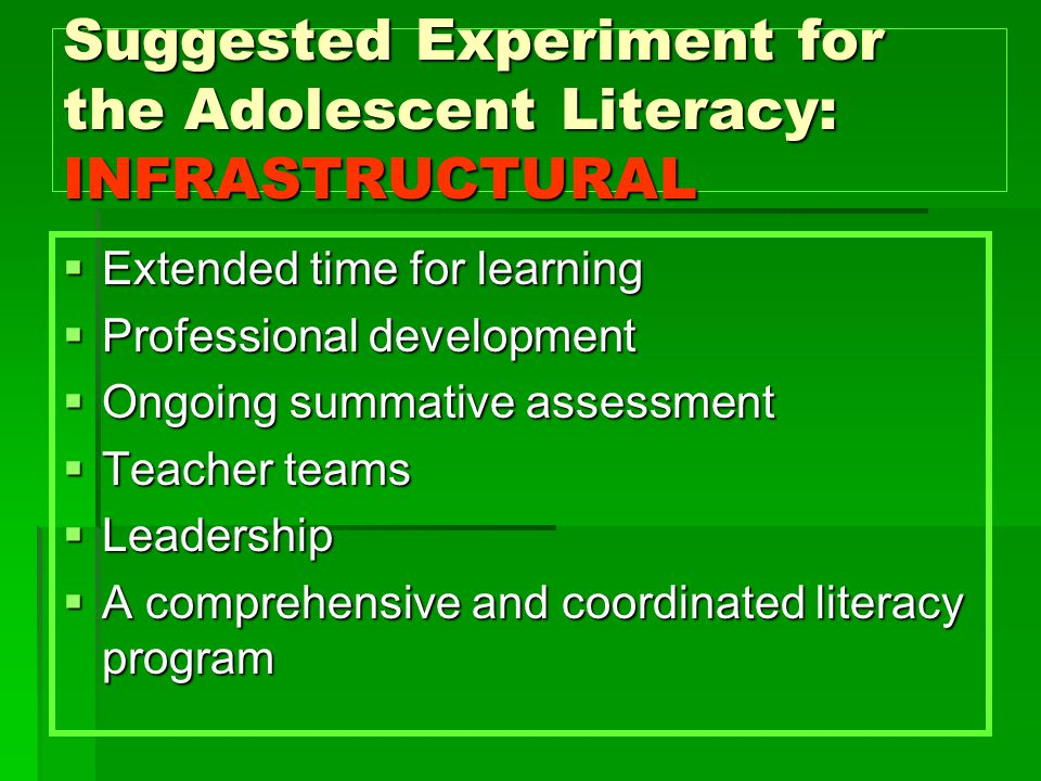 Grade Level Meetings Student specific  Find and use ALL data ( bring to meeting)  Do analysis for strength and weakness  Prioritize needs  Set goals (what % of sub groups will grow 04-05 )  Brainstorm specific strategies  Results indicators  Action Plan