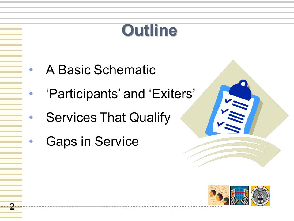 Outline A Basic Schematic 'Participants' and 'Exiters' Services That Qualify Gaps in Service 2