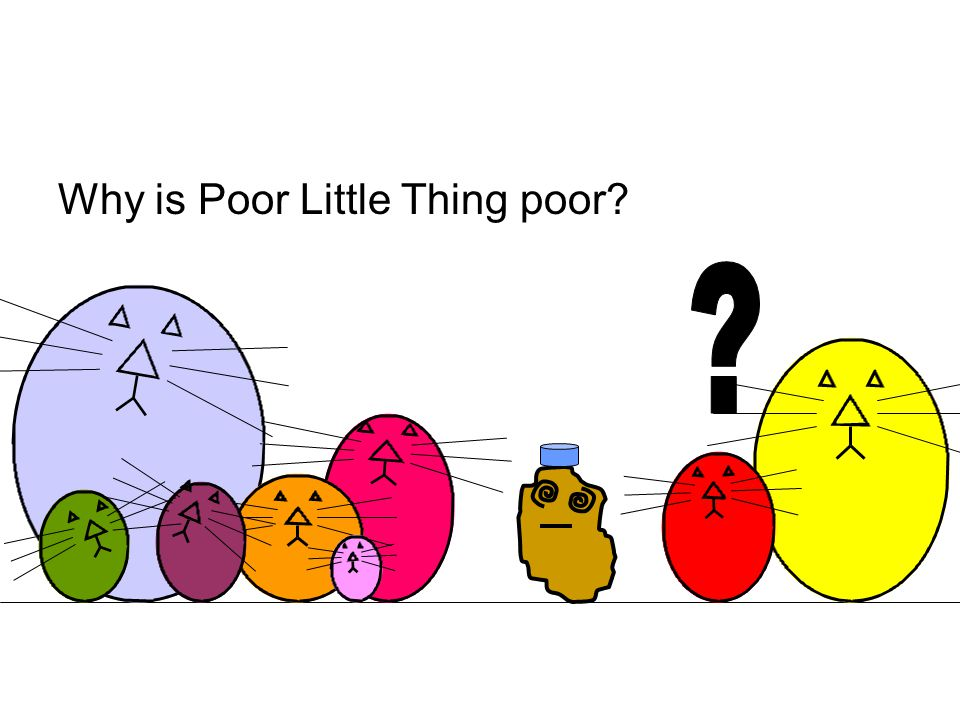 Why is Poor Little Thing poor?