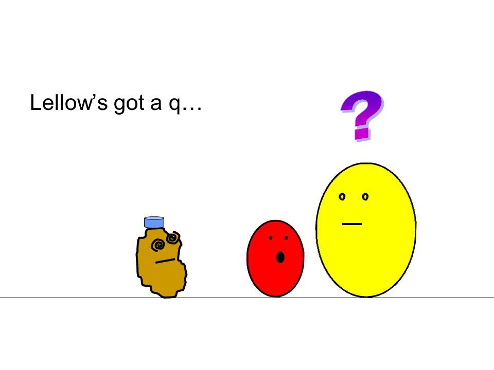Lellow's got a q…