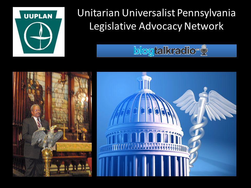 Unitarian Universalist Pennsylvania Legislative Advocacy Network