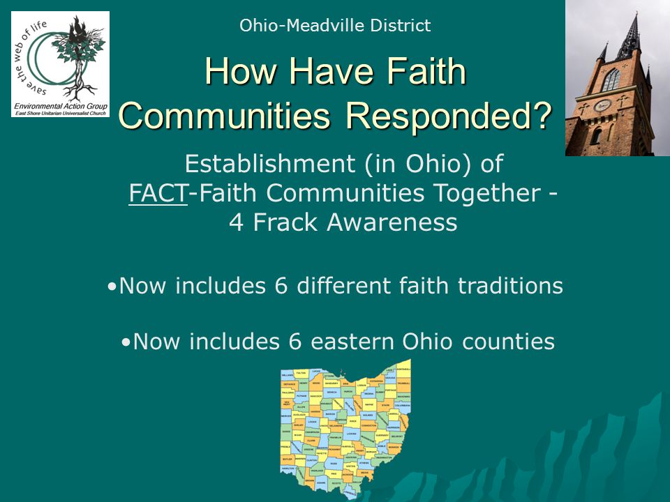 How Have Faith Communities Responded.