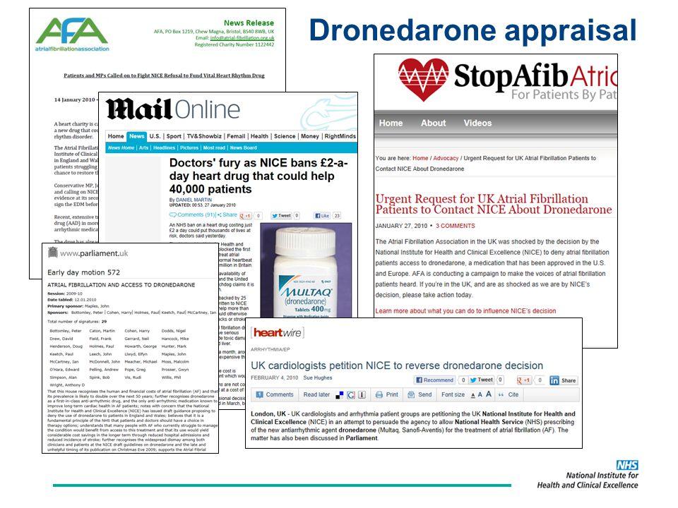 Dronedarone appraisal