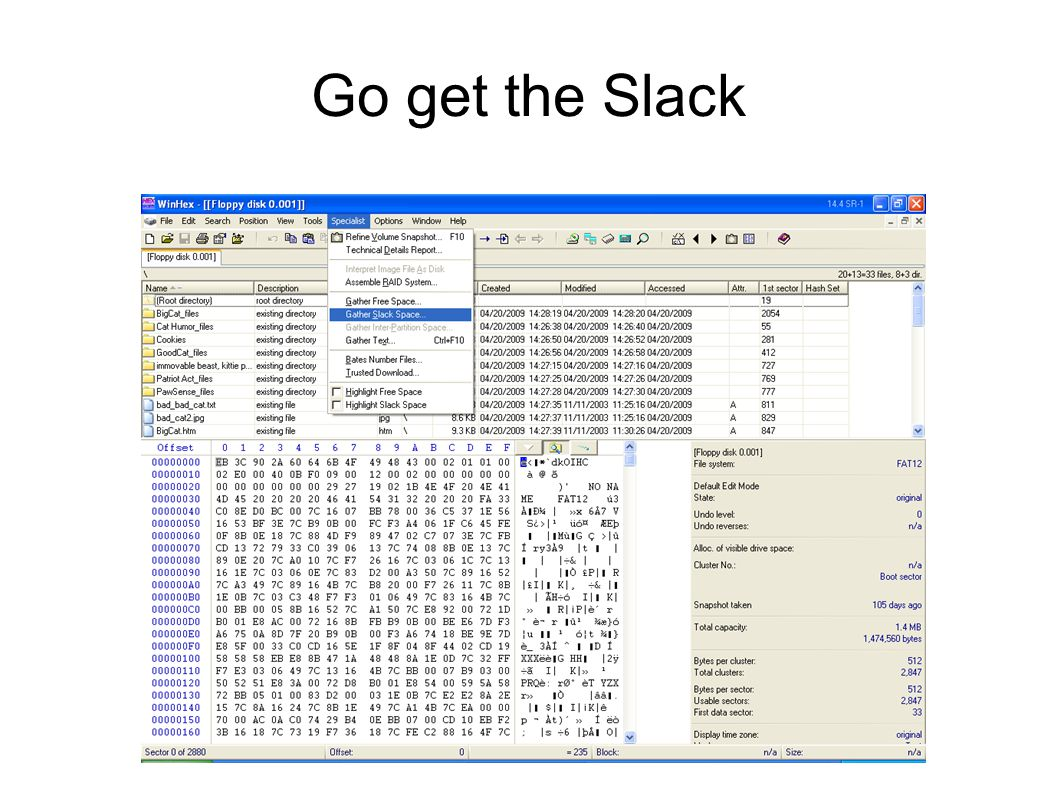 Go get the Slack