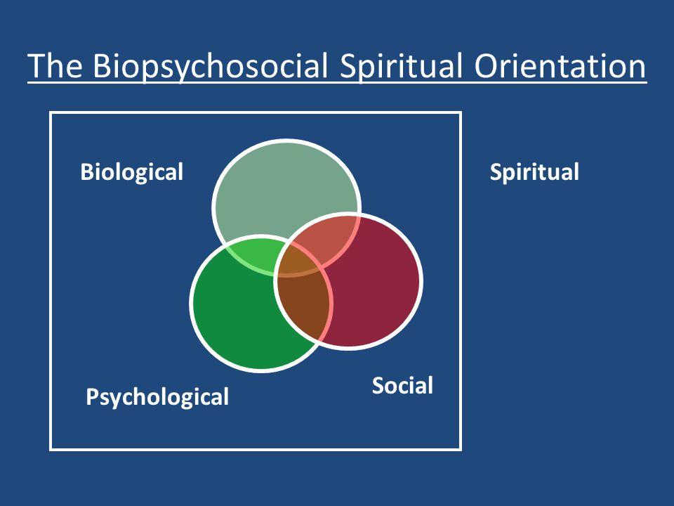 The Biopsychosocial Spiritual Orientation Biological Psychological Social Spiritual