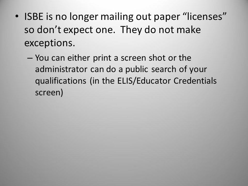 What you will have: Professional Educator License (PEL) Endorsements will be added to that license