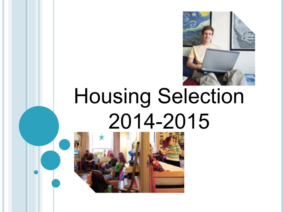 Housing Selection 2014-2015