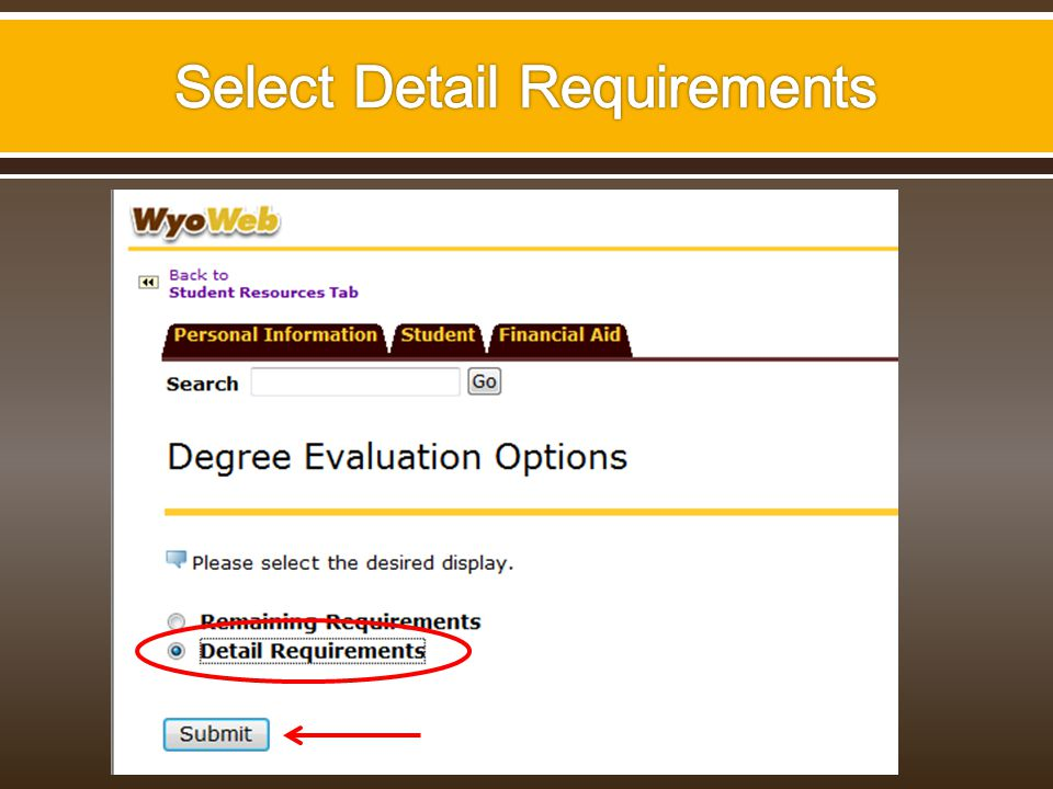 Select the year you transferred to or began taking courses at the University of Wyoming.