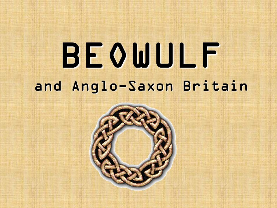 The Language of Beowulf Beowulf is written in unrhyming verse, without stanzas, with a caesura (pause) in the middle of each line.