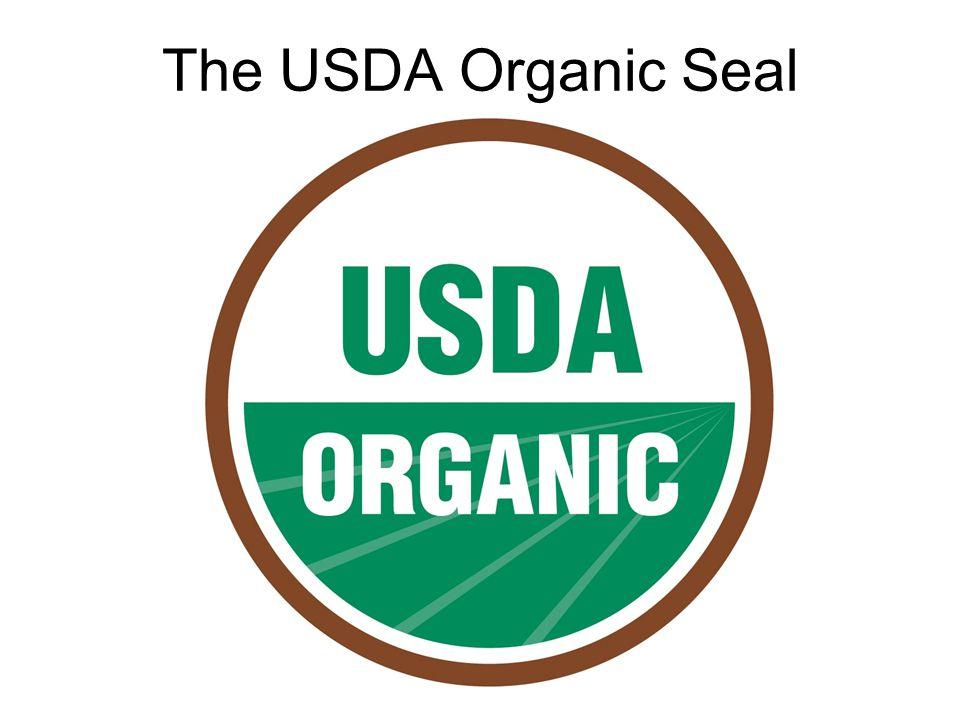The USDA Organic Seal