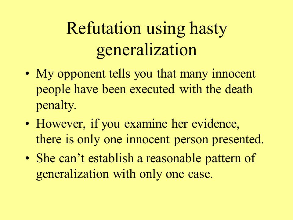 Refuting equivocation.We all know many words have more than one meaning.