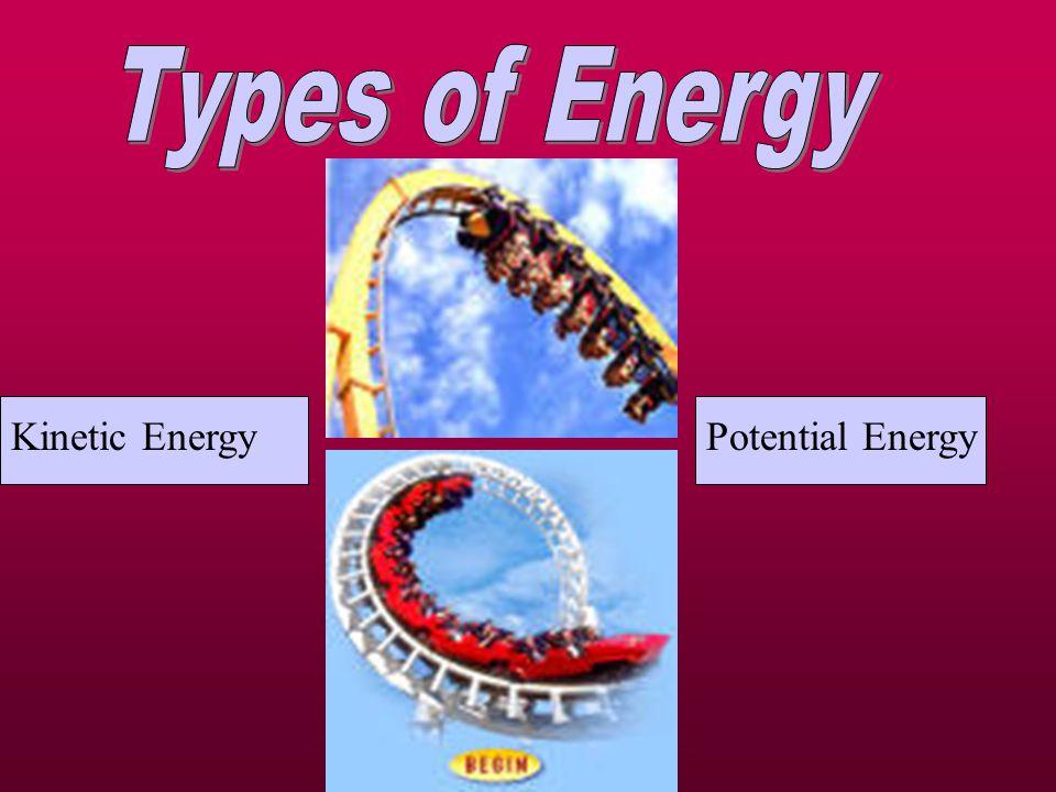 Kinetic EnergyPotential Energy