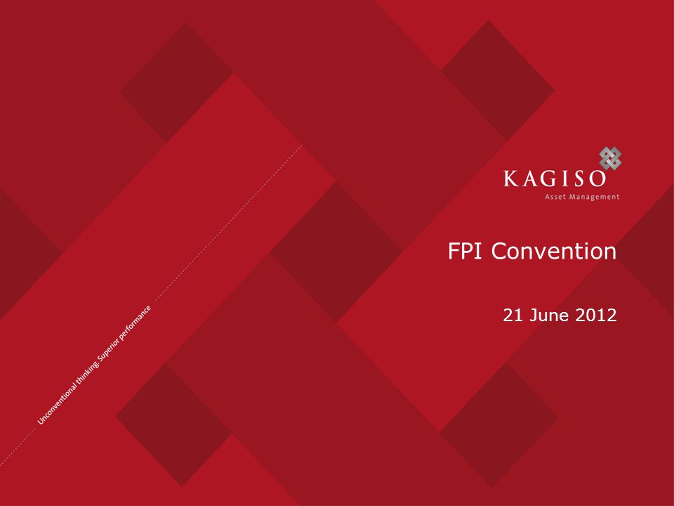 FPI Convention 21 June 2012