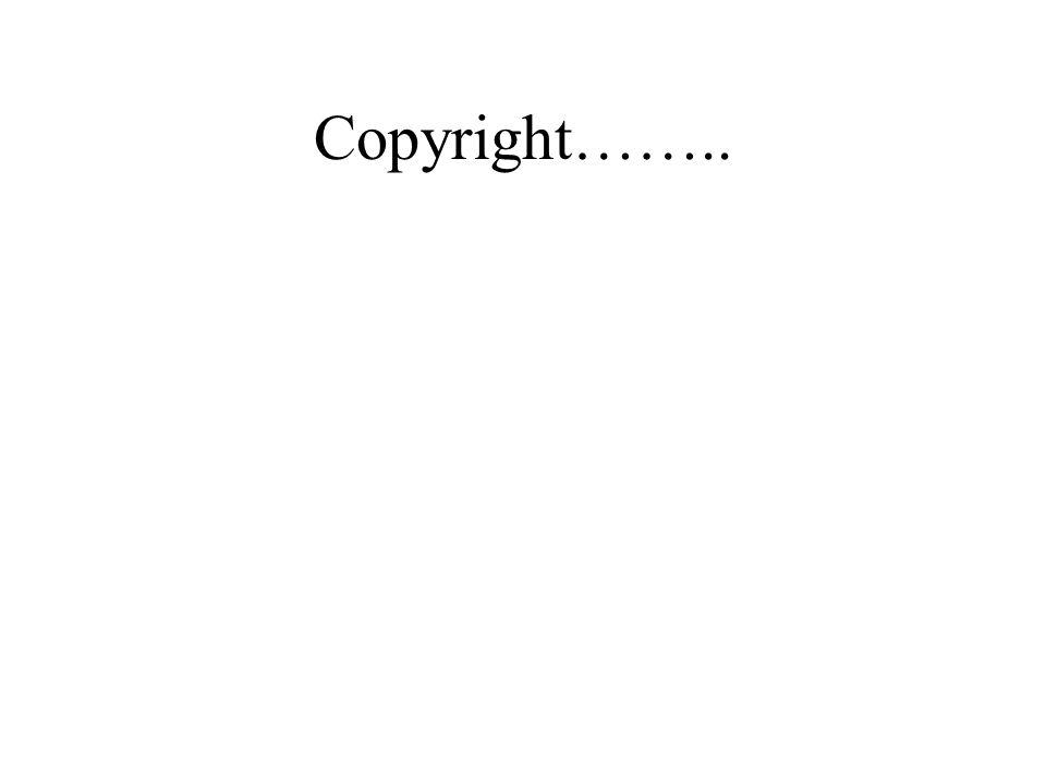 Copyright……..