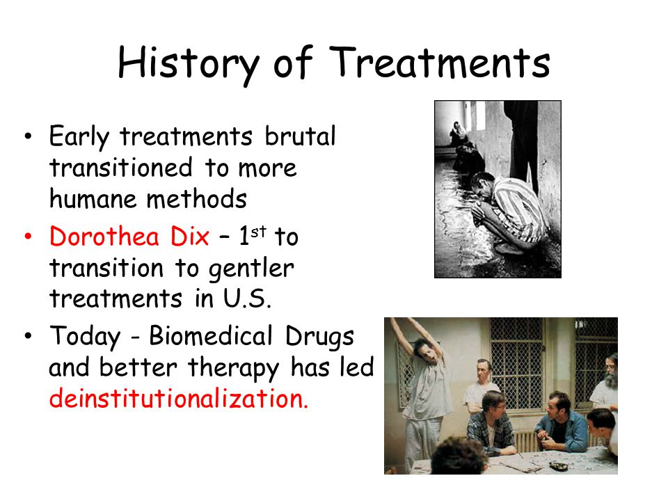 Categories of Therapy 2 Main Categories 1.Psychotherapy – interaction between therapist and patient – Phobias 2.Biomedical – prescription meds that act on central nervous system – Schizophrenia Eclectic Approach– uses a variety of psych theories and approaches Example: combining medication (anti-depressants) with different types of psychotherapy such as Cognitive Therapy (change feelings of self-blame) and Behavioral (go out and run when feeling depressed)to treat depression