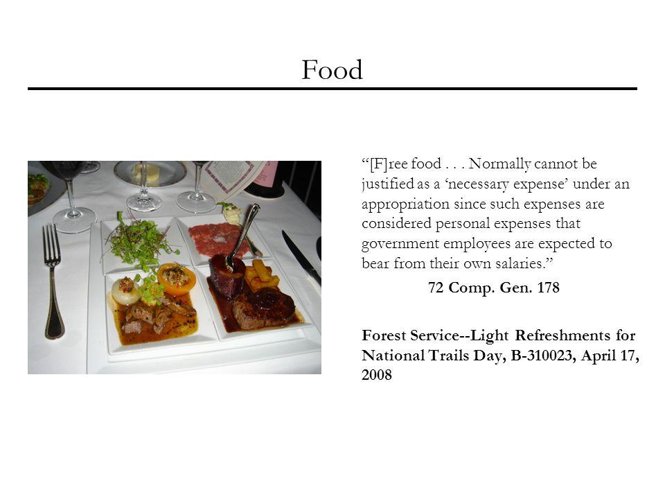Food [F]ree food...