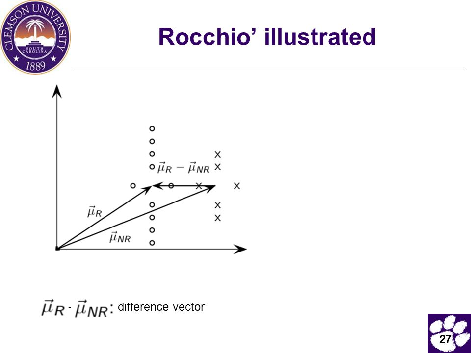 27 Rocchio' illustrated - difference vector