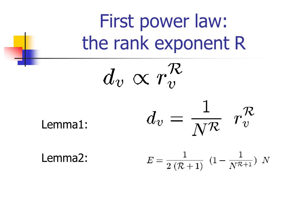 The rank exponent in AS and router level