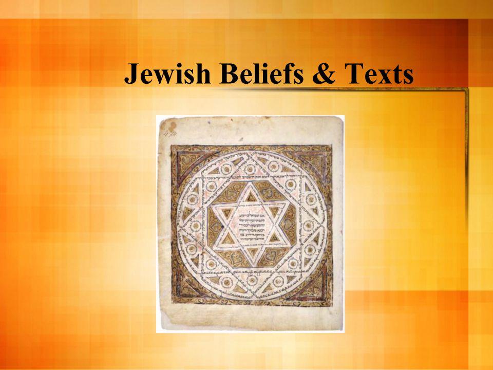 Jewish Beliefs & Texts