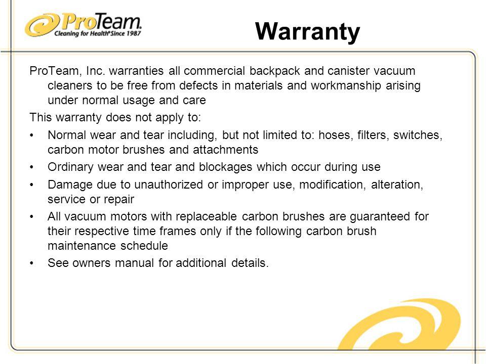 Warranty ProTeam, Inc.