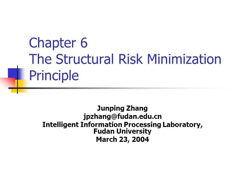 Problem of local risk minimization