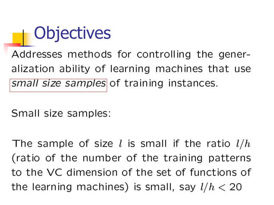 Consistency of the SRM principle.