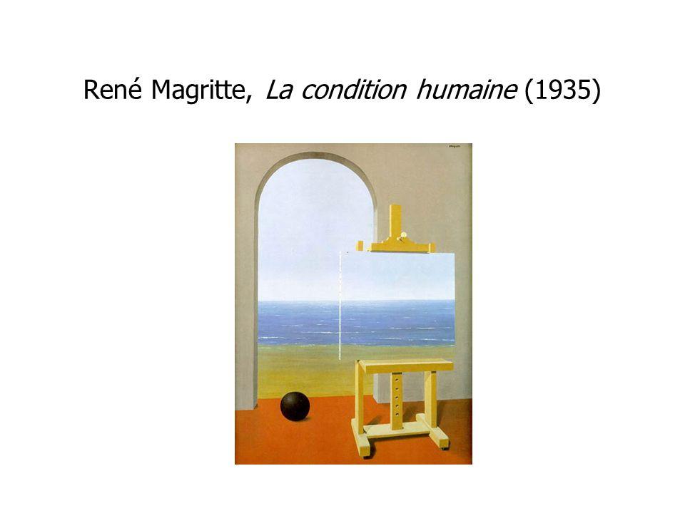 René Magritte, La condition humaine (1935)