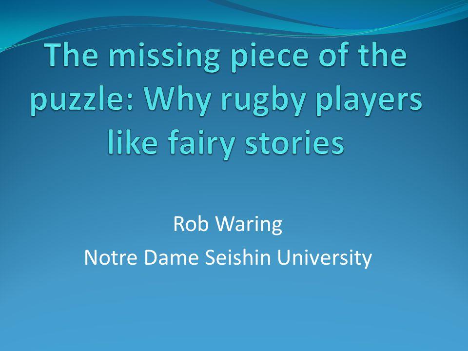 Rob Waring Notre Dame Seishin University