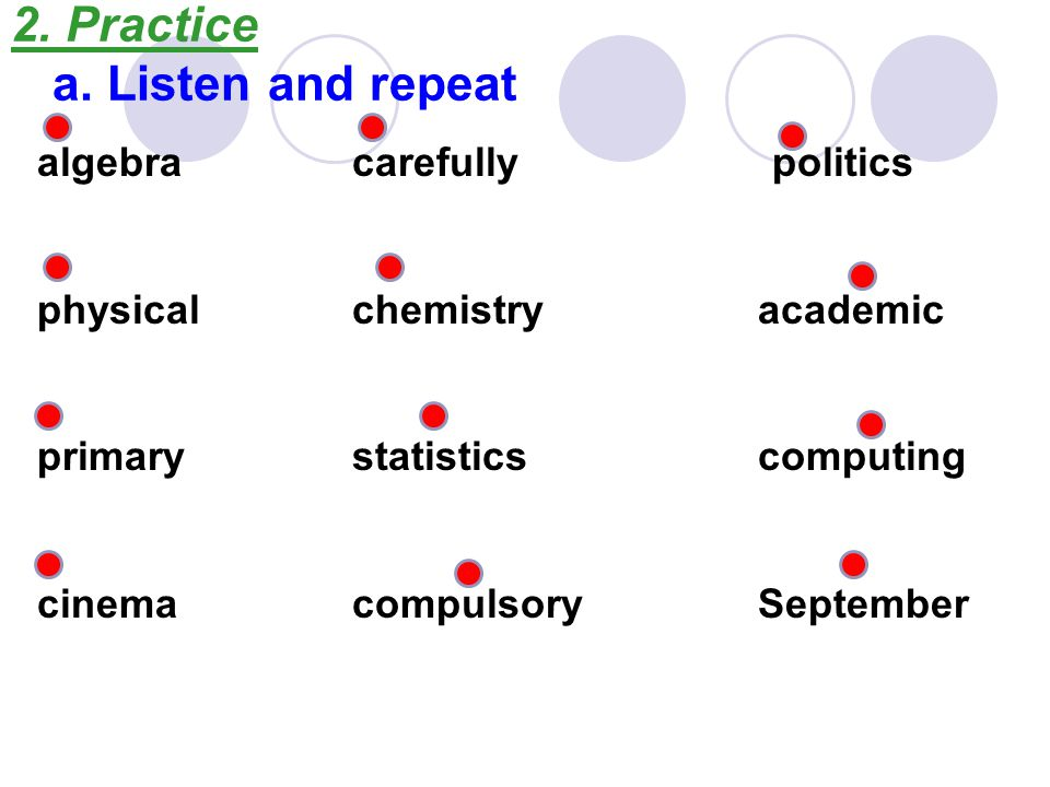 b.Read these sentences 1. The academic school year generally commences in September.